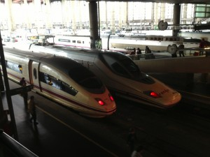Renfe Highspeed Train Spain