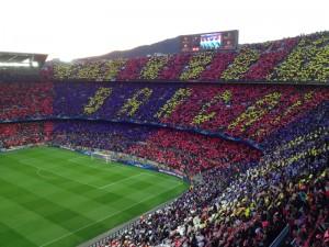 Camp Nou Choreo Bayern Munich 2013