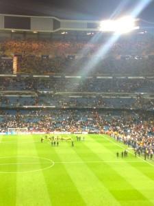 Real Madrid Borussia Dortmund Fanblock Spieler